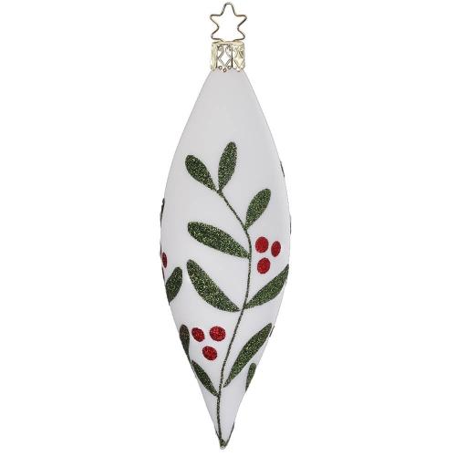 Olive Christmas Leaf