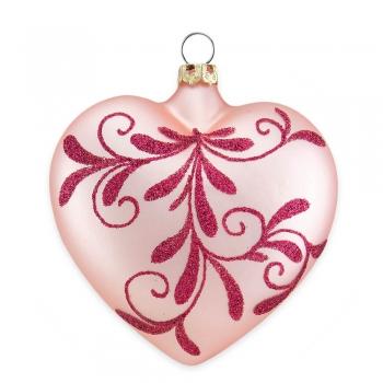 Herz Blütenbouquet Hellapricot