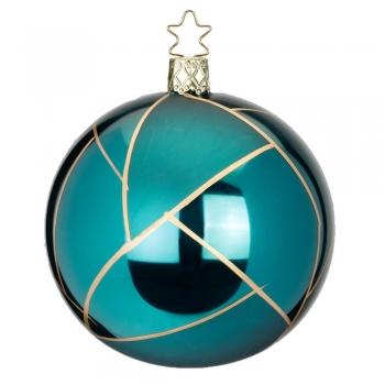 Kugel Tiffany blaugrün