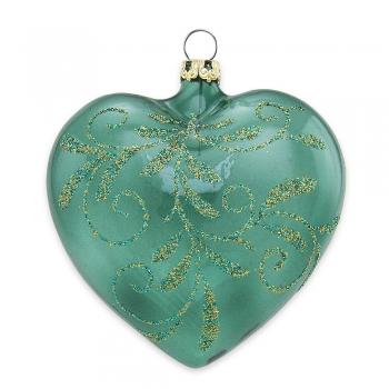 Herz Blütenbouquet FerngreenGlanz